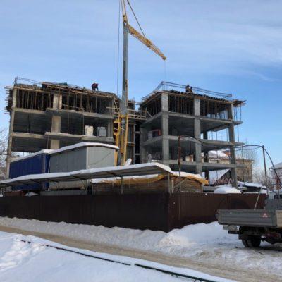 Этапы строительства жилого дома «Соло»